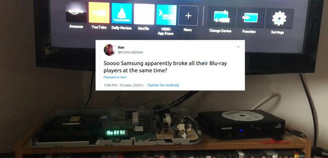 Đầu đĩa Blu-ray của Samsung gặp lỗi hệ thống trên toàn cầu - Ảnh 3.