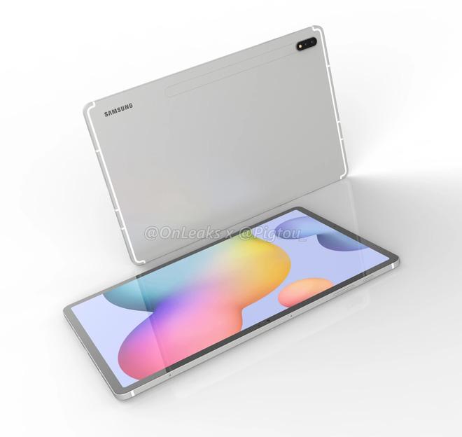 Đây là Galaxy Tab S7 Plus: Màn hình 12.4 inch, camera kép, Snapdragon 865, pin 9800mAh - Ảnh 3.