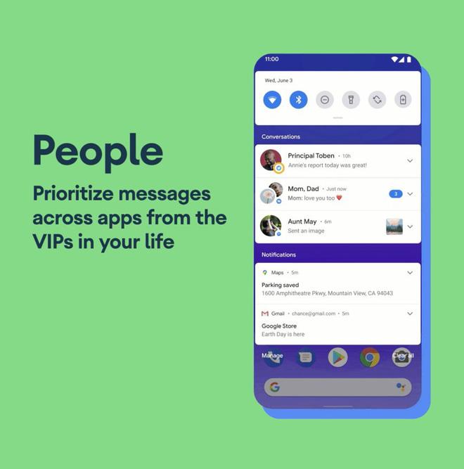 Điểm mặt 10 nét mới đáng chú ý nhất trong Android 11 Beta - Ảnh 1.