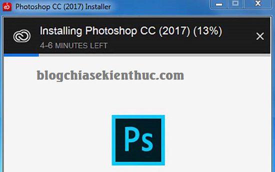 Hướng dẫn cài đặt Photoshop CC 2017