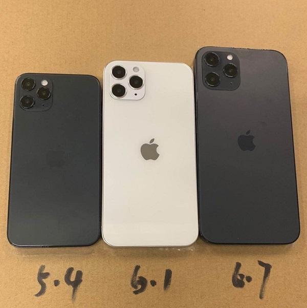 Những hình ảnh đầu tiên về iPhone 12 chân thực
