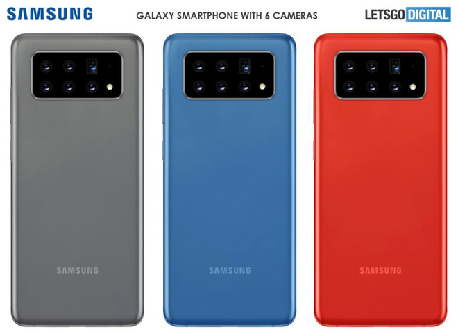 Samsung đệ trình bằng sáng chế smartphone với 6 camera chính có thể dịch chuyển - Ảnh 1.