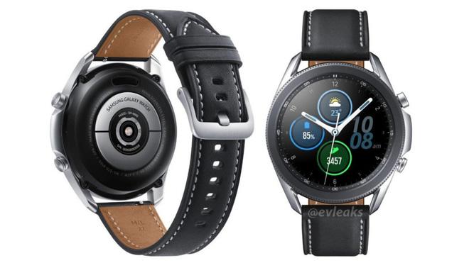 Samsung Galaxy Watch 3 lộ hình ảnh thiết kế chi tiết và rõ nét nhất - Ảnh 2.