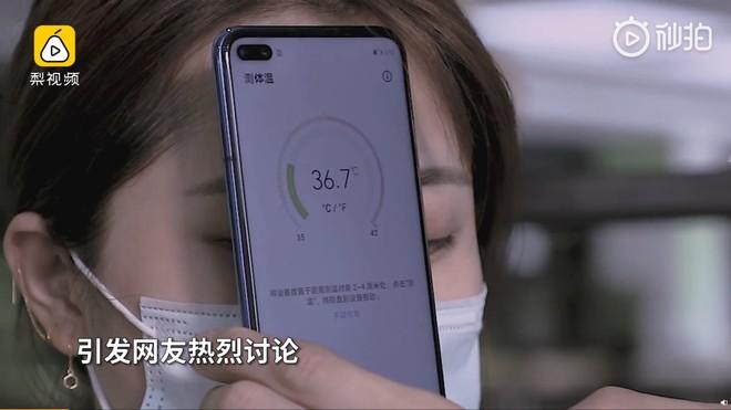 Smartphone mới ra mắt của Huawei không có ứng dụng Google, nhưng có khả năng đo nhiệt độ cơ thể - Ảnh 1.