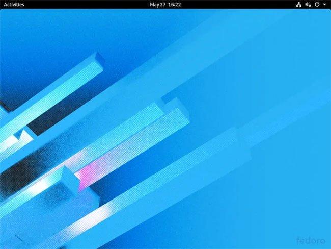 Desktop Fedora Workstation 32