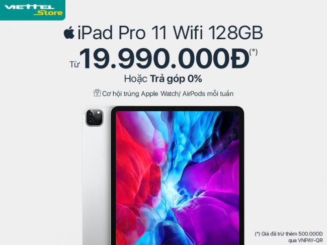 Thị trường chứng kiến iPad Pro 2020 chính hãng có mức giá thấp kỷ lục