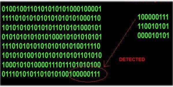 Virus signature có thể là hàm hash tĩnh hoặc thuật toán dựa trên hành vi