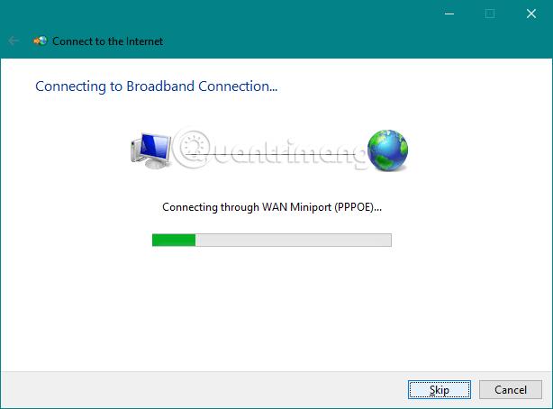 Quá trình kết nối PPPoE