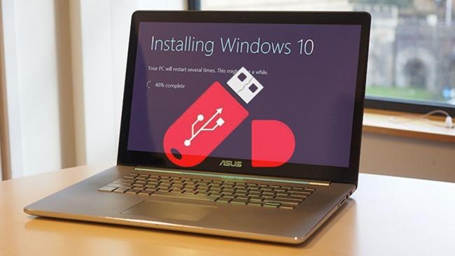 Cài Windows 10 bằng USB cực nhanh chỉ với vài bước đơn giản