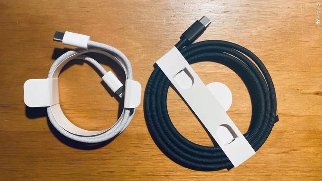 Cận cảnh cáp Lightning bọc dù được Apple bán kèm iPhone 12 - Ảnh 1.