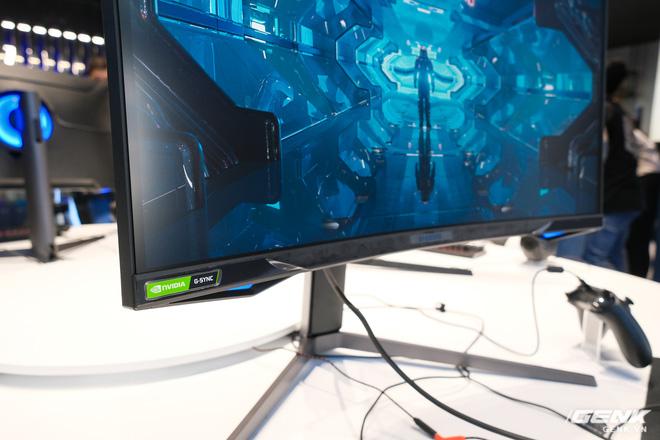 Cận cảnh màn hình cong 49 inch chuyên game 1000R của Samsung: Thiết kế đến từ tương lai, độ phân giải DQHD, 1ms, 240Hz, giá hơn 55 triệu đồng - Ảnh 4.