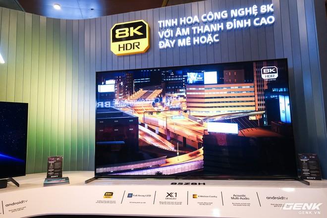 Cận cảnh TV Bravia 8K và OLED 4K nhỏ nhất thị trường Việt Nam của Sony - Ảnh 1.