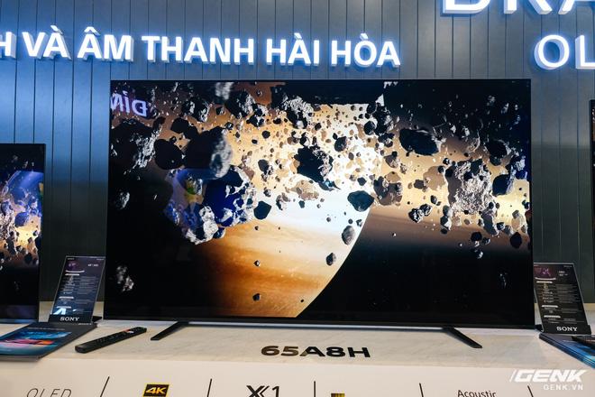 Cận cảnh TV Bravia 8K và OLED 4K nhỏ nhất thị trường Việt Nam của Sony - Ảnh 8.
