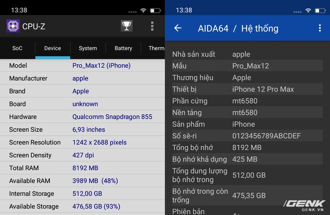 Cảnh giác với iPhone 12 Pro Max hàng nhái chạy Android, giá 2.5 triệu đồng tại Việt Nam - Ảnh 12.
