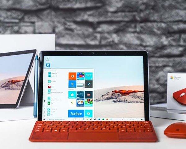 Thiết kế của Surface Go 2 tương tự như bản cũ