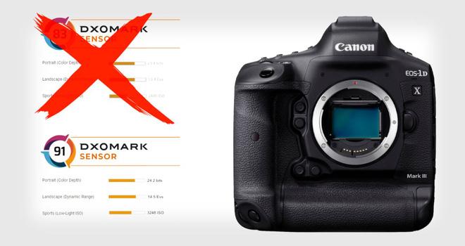 DXOMark thừa nhận tính toán sai điểm chất lượng dòng máy ảnh Canon 1D X Mark III - Ảnh 1.