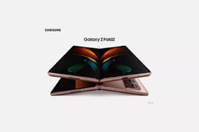 Lộ diện smartphone màn hình gập của Samsung: Sự kết hợp hoàn hảo của Galaxy Fold và Galaxy Z Flip?