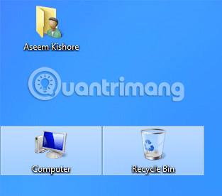 Khoảng cách hộp bao quanh icon