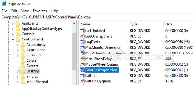 Điều hướng dến Desktop
