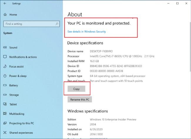 Windows 10 đang được thử nghiệm loại bỏ System Control Panel