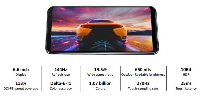 ROG Phone 3 ra mắt: Snapdragon 865+, màn hình 144Hz, camera 64MP, pin 6000mAh, giá từ 799 EUR - Ảnh 3.
