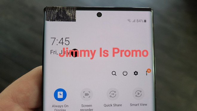 Samsung Galaxy Note 20 Ultra lần đầu tiên lộ ảnh thực tế: Viền bezel mỏng hơn, camera đục lỗ nhỏ hơn, màn hình cong hơn - Ảnh 2.
