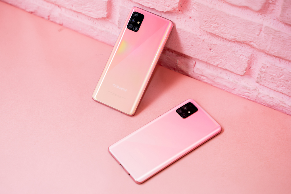 Galaxy A51 Pink (32 of 70)