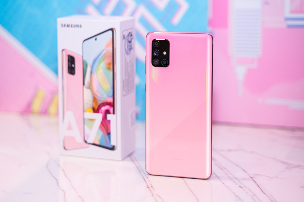 Galaxy A51 Pink (55 of 70)