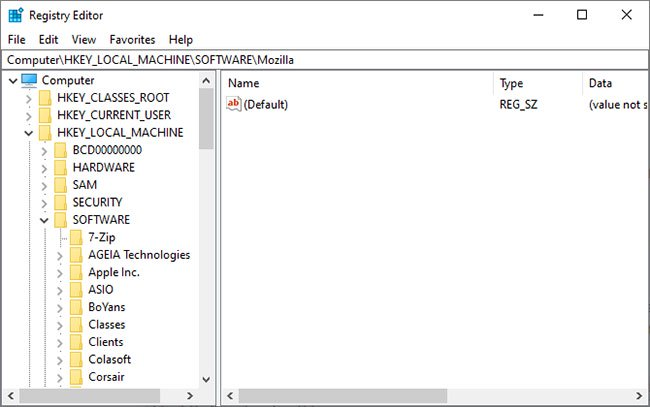 Windows Registry về cơ bản là một cơ sở dữ liệu nội bộ khổng lồ chứa thông tin quan trọng về máy tính