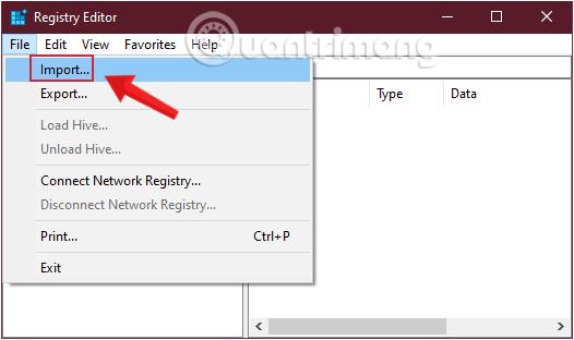 Khôi phục Registry nếu có sự cố