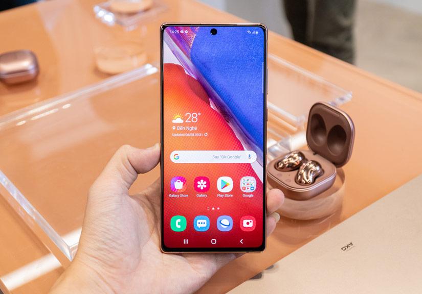 Samsung khẳng định vị thế dẫn đầu với Galaxy Note 20 Ultra