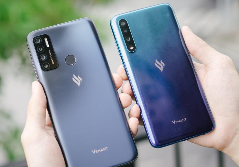 """So sánh Vsmart Live 4 và Vsmart Live: Smartphone """"Make in Vietnam"""" 100% có gì hơn?"""