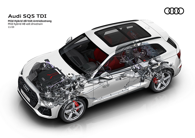 Audi SQ5 bổ sung động cơ dầu và cải thiện hiệu suất