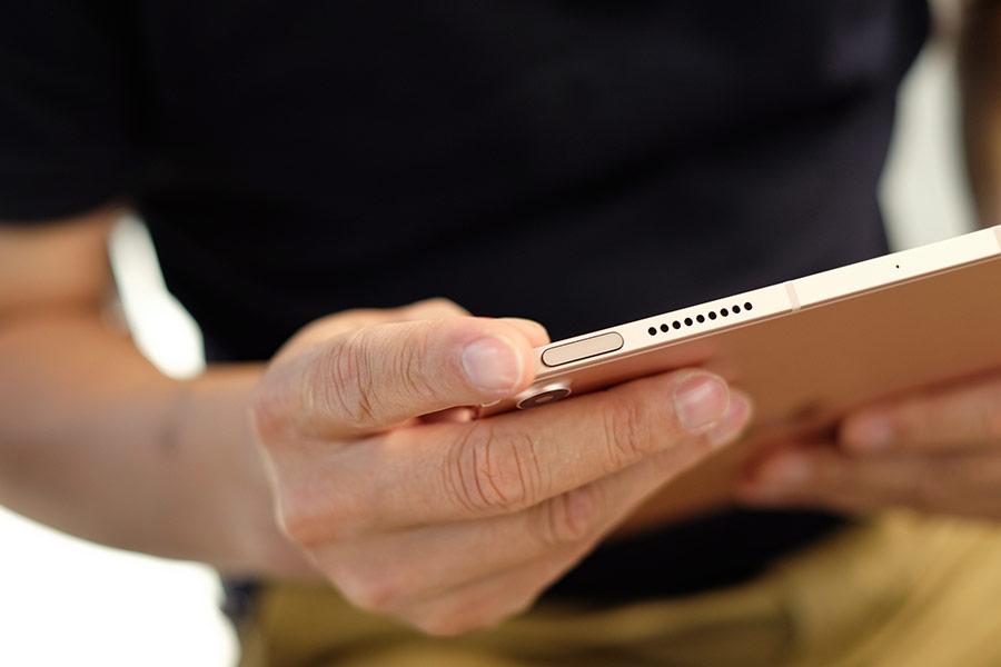 Những chi tiết thiết kế của iPad Air