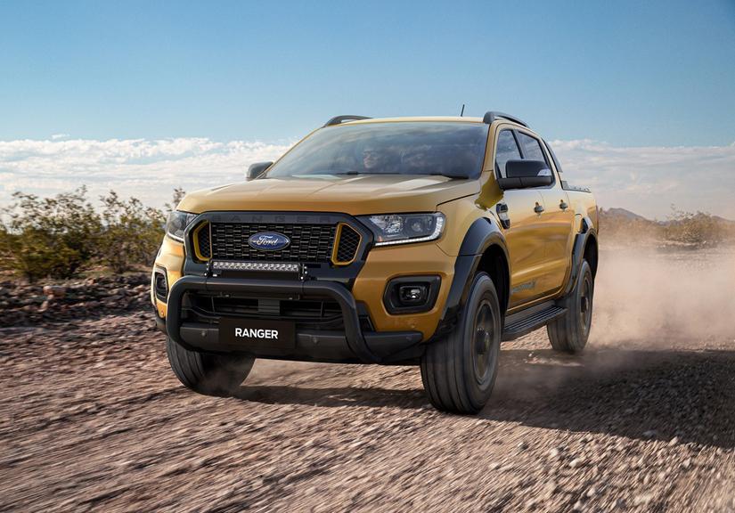 Ford Ranger Wildtrak 2021 có thêm phiên bản địa hình