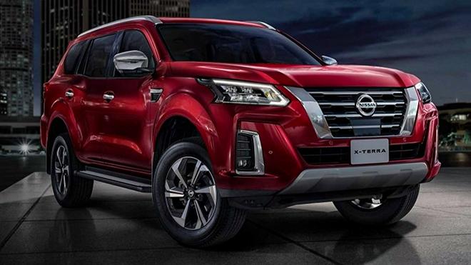 Nissan Terra mới chính thức ra mắt, thu hút hơn nhờ thay đổi thiết kế