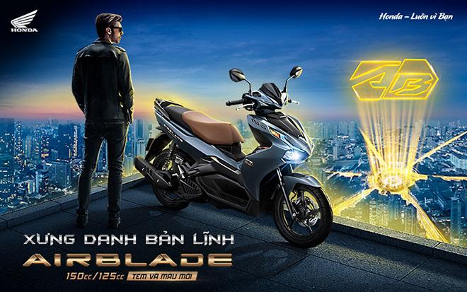 Ra mắt Honda Air Blade 125 và 150cc bản 2021, giá thấp nhất 41 triệu đồng
