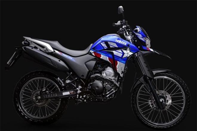 Chiếc motocross Lander250 2021.