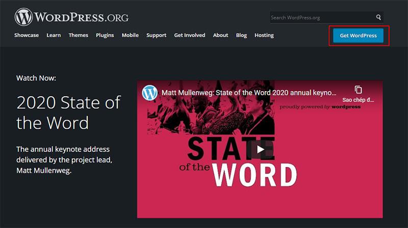 Tải bản WordPress mới nhất