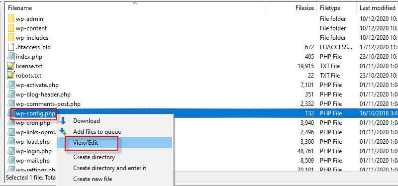 Kích hoạt hiển thị lỗi trong file wp-config.php