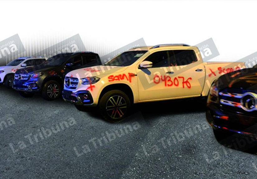 Lô 125 xe bán tải Mercedes-Benz cuối cùng bị đem đi nghiền nát