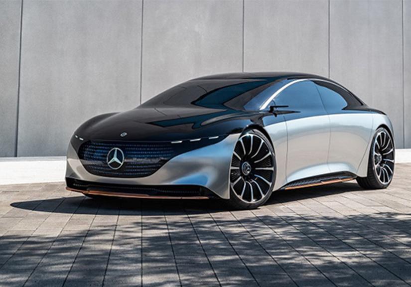 Mercedes-Benz hé lộ màn hình Hyperscreen lớn nhất thế giới dành riêng cho xe điện EQS