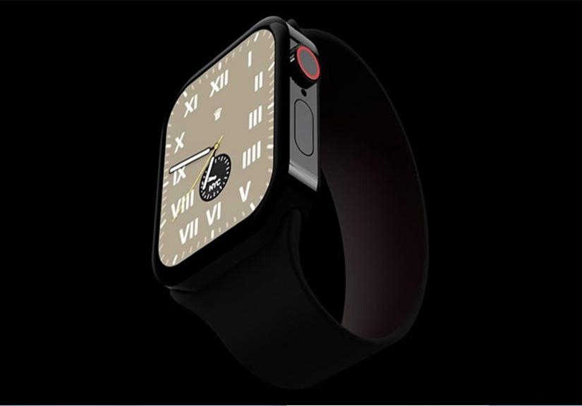 """Apple Watch Series 7 """"lột xác"""" với thiết kế cứng cáp, đồng điệu với iPhone 12"""