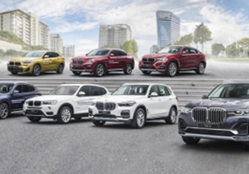 Bảng giá xe ô tô BMW mới nhất tại Việt Nam tháng 01/2021