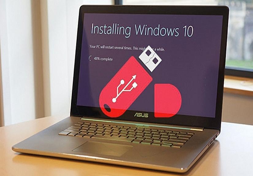 Cách cài Windows 10 bằng USB cực nhanh chỉ với vài bước đơn giản