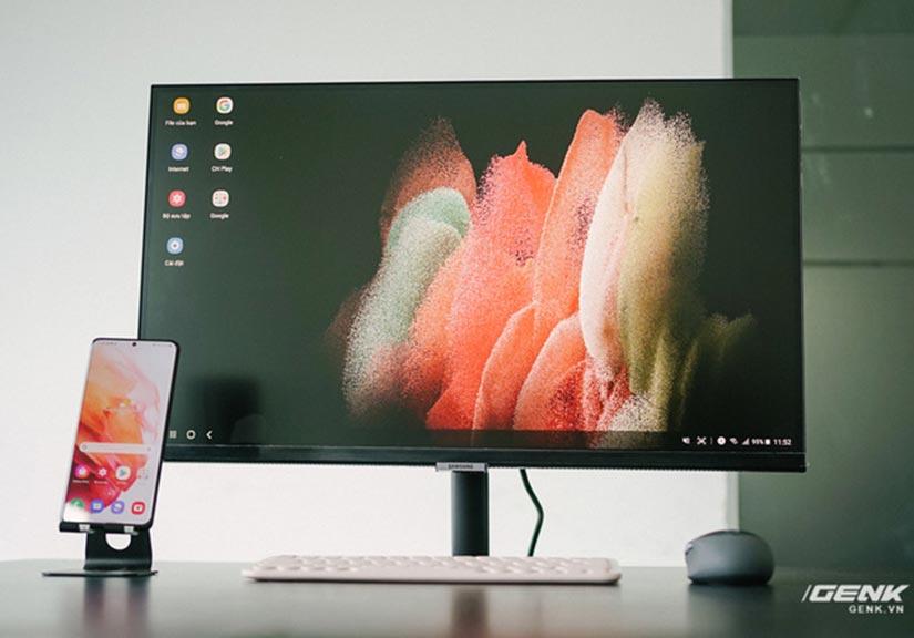 Cận cảnh Samsung M5: Màn hình thông minh mới của Samsung có thể hoạt động độc lập không cần máy tính, giá từ 7 triệu đồng