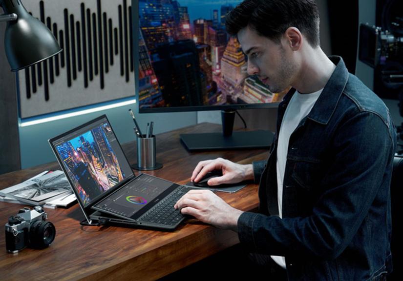 [CES 2021] Asus ra mắt hai mẫu ZenBook Duo mới với màn hình kép, VivoBook và ExpertBook mới siêu nhẹ