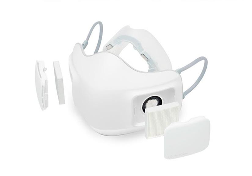 LG ra mắt khẩu trang lọc khí PuriCare: Lọc được cả bụi mịn và virus, tích hợp quạt gió, pin 8 giờ, giá 3.5 triệu đồng