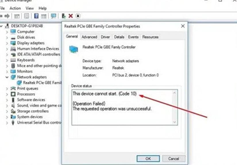 """Lỗi """"Code 10"""" ở Windows là gì? Và cách khắc phục nó?"""