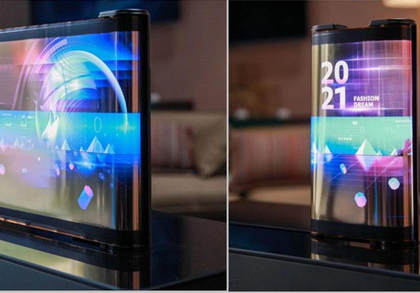 Màn hình dẻo cuộn được sẽ là xu hướng thiết kế điện thoại của tương lai